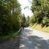 Flere km tung klatring gjennom skog i starten /sørsiden
