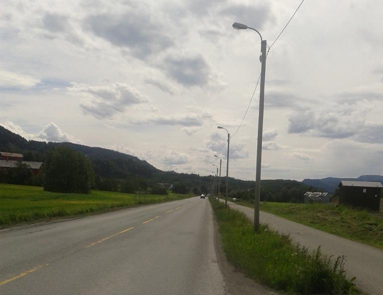 Flate strekk utover fra Blakli mot Bjørkmyr