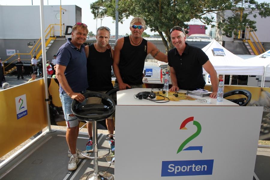 Med Dag Otto og Christian Paasche i Tv2 studio.