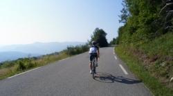 Vårslepp - de første sykkelturene