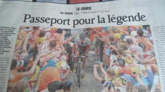 Reportasjen fra sirkuset i Alpe d`Huez