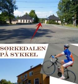 Sykling i Sørkedalen, Oslo.