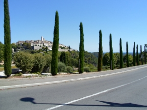 Cannes-Valbonne-Gourdon-Greolieres-Vence-Nice, 100km