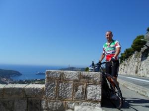 Nice-Eze-La Turbie-Col de Braus-Nice, ca 80km