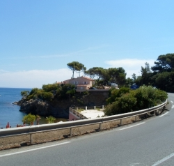 Cannes-St.Tropez, ca 75km