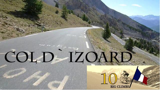 Col de Izoard, 2360 moh. 30 ganger med i Tour de France. En legende.