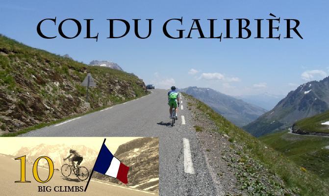 Col du Galibièr, 2645moh, et av de høyeste fjellpass fra Tour de France, og naturomgivelsene er enorme.