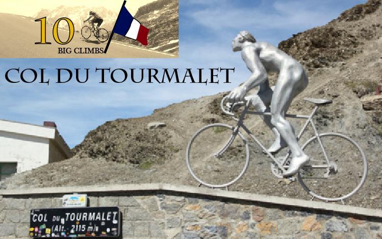 Col du Tourmalet. En legende i Pyreenene. Det mest brukte fjellet i Tour de France historie.