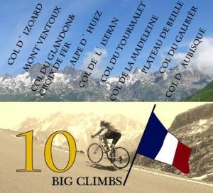 Frankrikes 10 på topp BIG CLIMBS å besøke med sykkel
