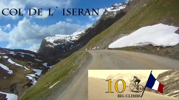 Col de l`Iseran, 2770 moh. Det høyeste asfalterte fjellpass i hele Frankrike. Spektakulære omgivelser.