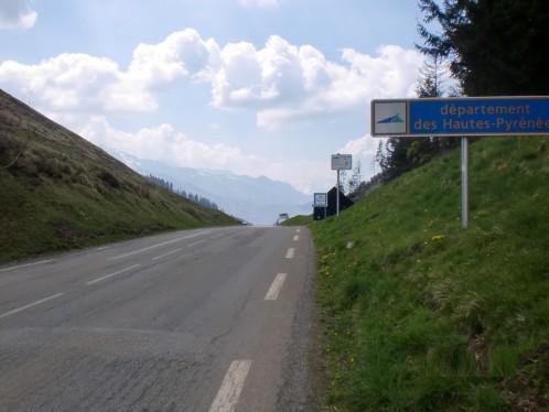 Toppen av Col de Peyresourde