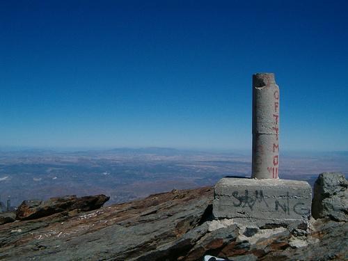 Toppen av Pico de Valeta