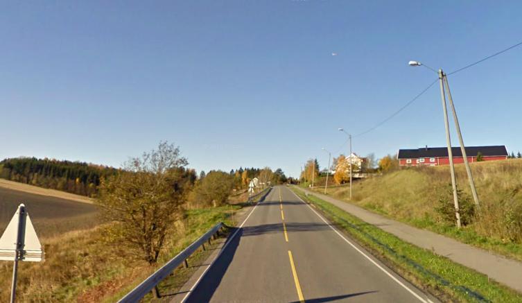Trheimsveien. Her fra Frogner mot Skedmokorset hvor det er noen tøffe stigninger.