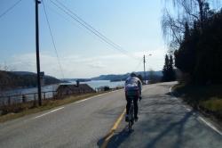 Hurum rundt på sykkel, ca.140 km