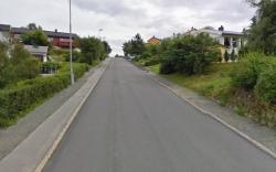 Detaljene for bratte bakker i Trondheim