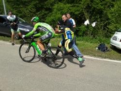 2014/Dag 6: Giro d Italia, klatretempo på Monte Grappa