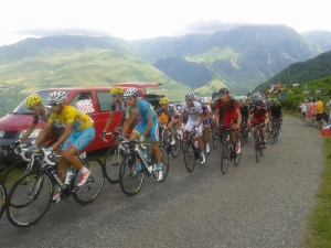 Pyreneene 2014, Dag 3: Col d`Azet og Tour de France