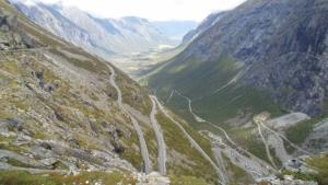 Trollstigen på sykkel