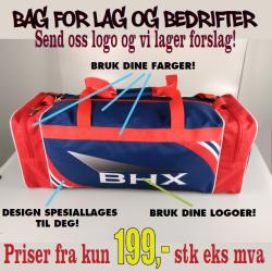 BHX - spesialdesignede bagger for lag og bedrifter