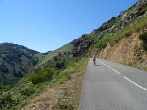 Trans Pyrenee Tour 2016, 1 etappe:  Biarritz - St Jean Pied de Port