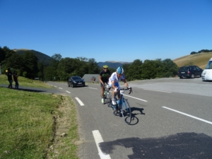 Trans Pyrenee Tour 2016, etappe 2: St Jean Pied de Port - Laruns